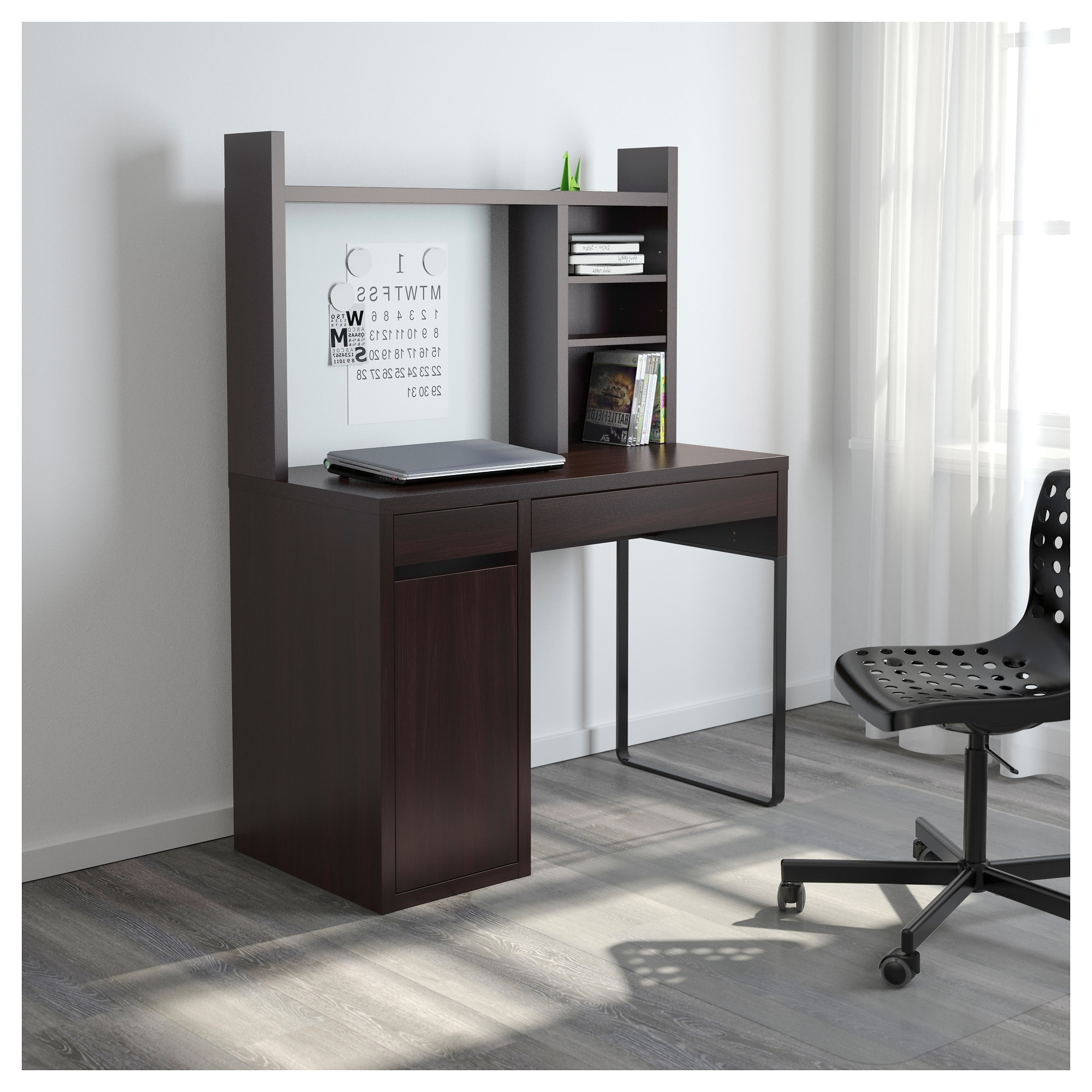Most Up To Date Ikea Mn Computer Desks For Micke Computer Work Station – White – Ikea (View 2 of 20)