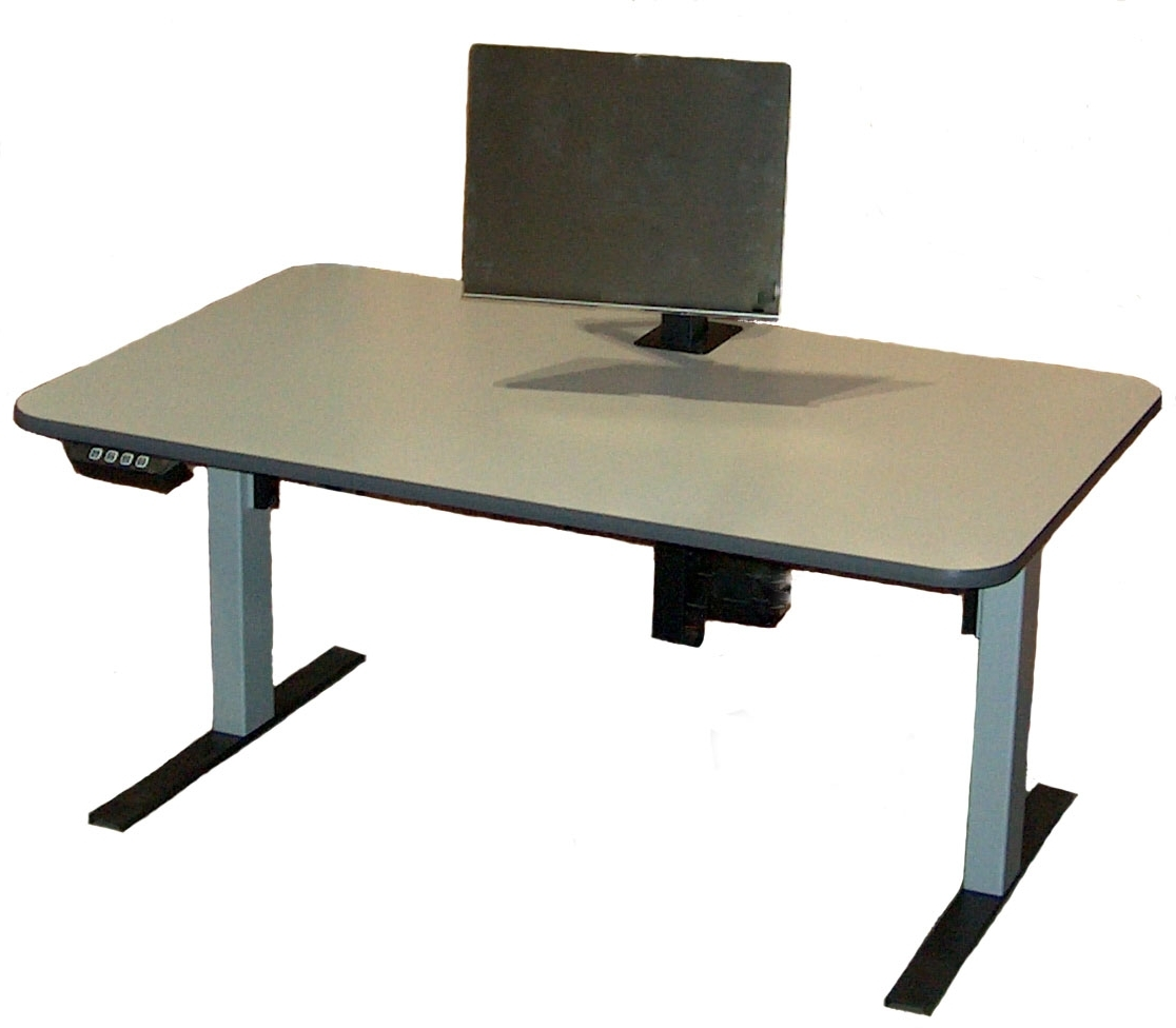 Most Up To Date Infinity Station, Electrrically Adjustable, Affordable, Ergonomic For Ergonomic Computer Desks (View 15 of 20)