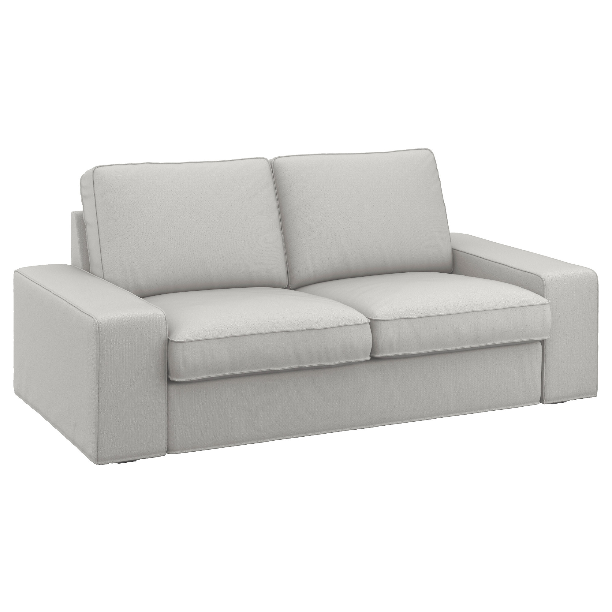 Most Up To Date Kivik Two Seat Sofa Ramna Light Grey – Ikea In Ikea Two Seater Sofas (View 2 of 20)