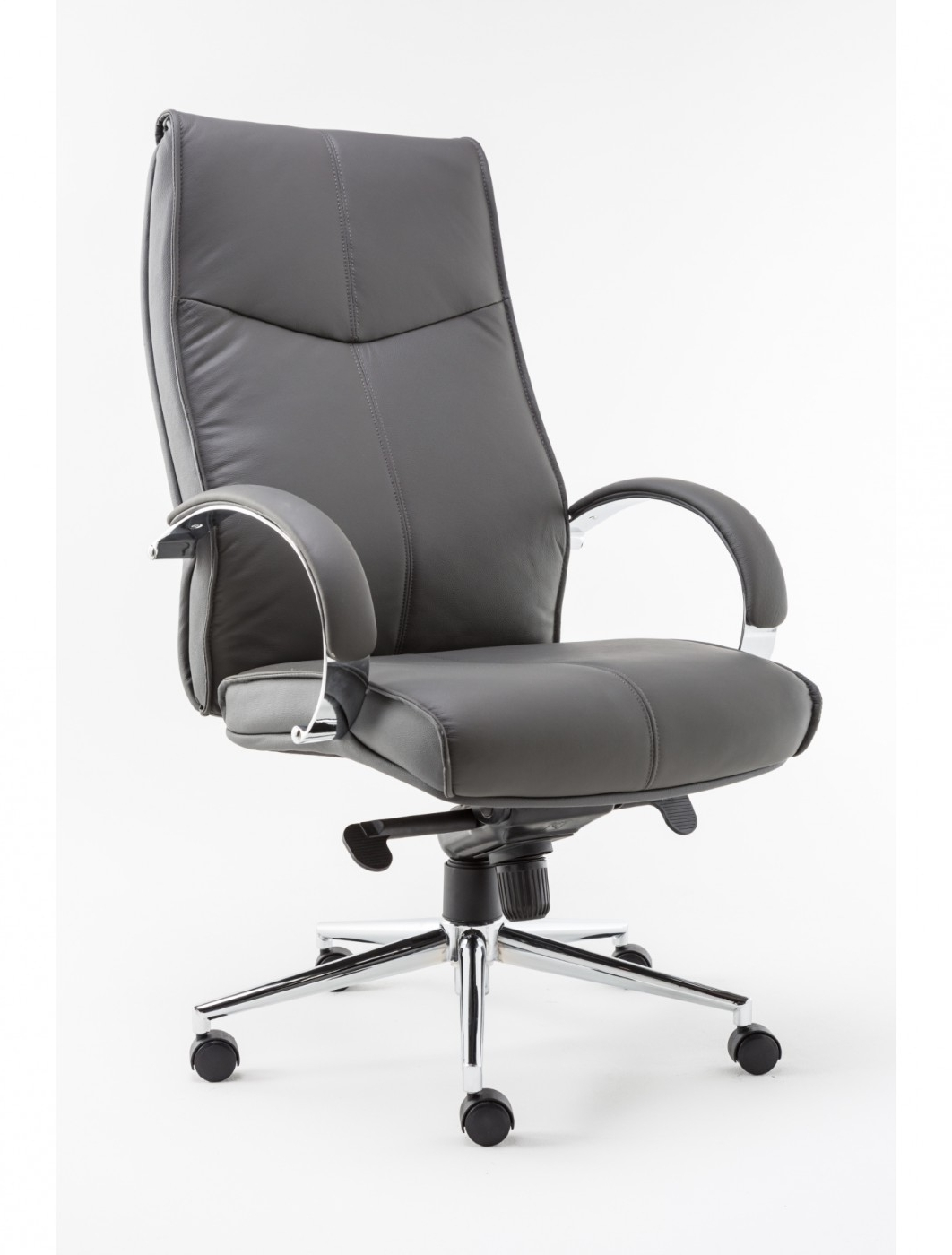 Most Up To Date Leather Executive Office Chairs Intended For Alphason Verona Executive Office Chair Aoc1019Gry (View 14 of 20)