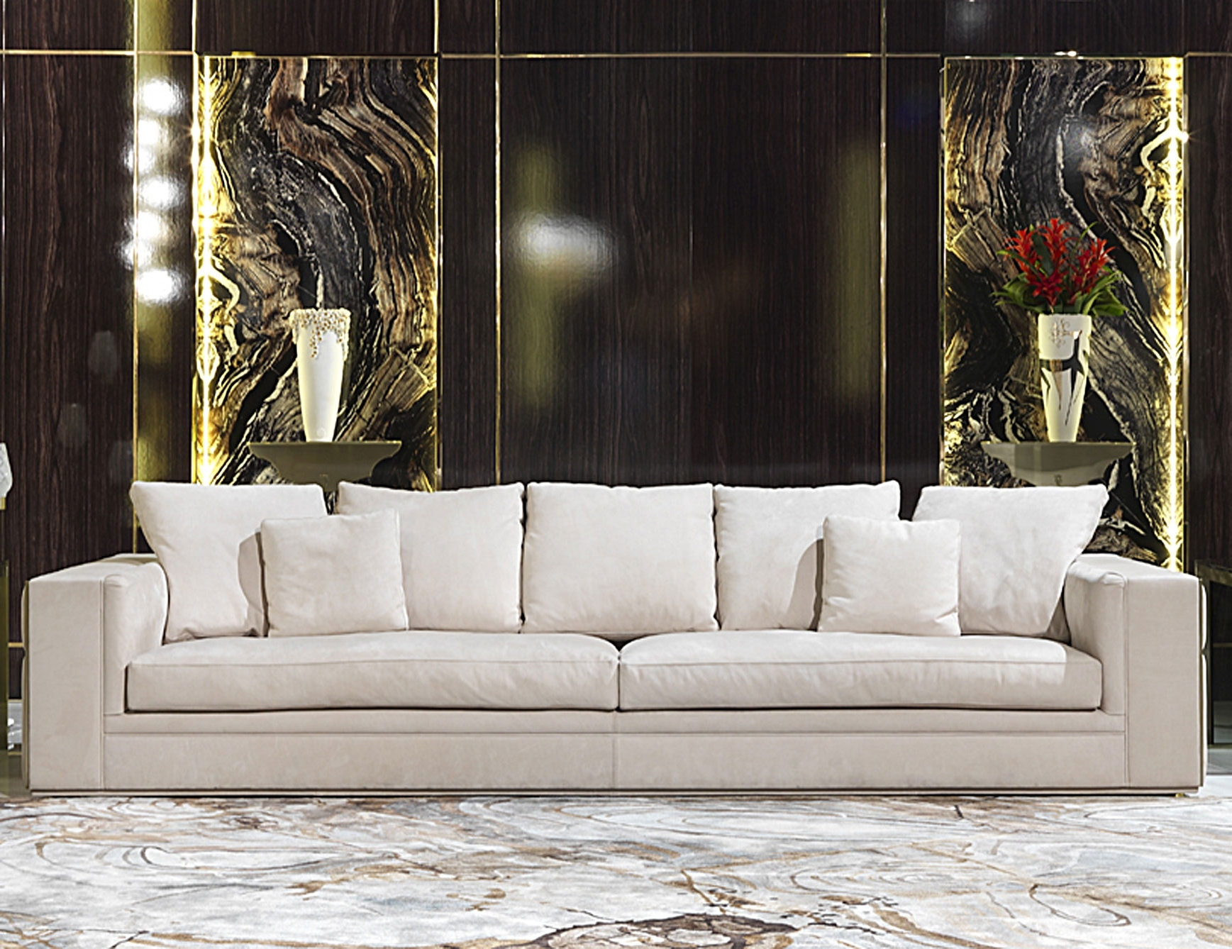 Most Up To Date Luxury Sofas Intended For Nella Vetrina Visionnaire Ipe Cavalli Babylon Luxury Italian Sofa (View 8 of 20)