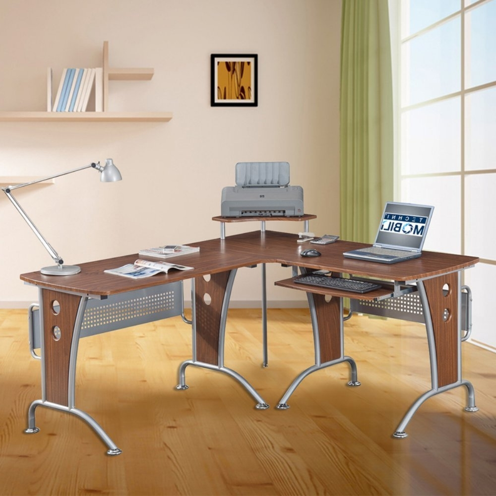 Most Up To Date Quill Computer Desks Within L Shaped Computer Desk Furniture — Home Design Ideas (View 7 of 20)