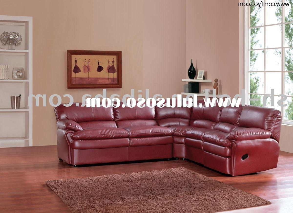 Most Up To Date Red Leather Sectional Sofas With Recliners Pertaining To Reclining Sectionals Recliners – Living Rooms House Beautiful (View 2 of 20)