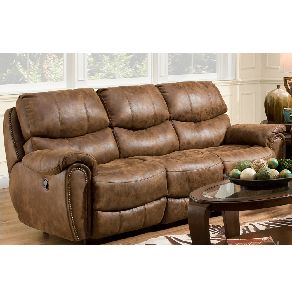 Most Up To Date Richmond Sofas With Richmond Double Reclining Sofafranklin – Texas Furniture Hut (View 9 of 20)