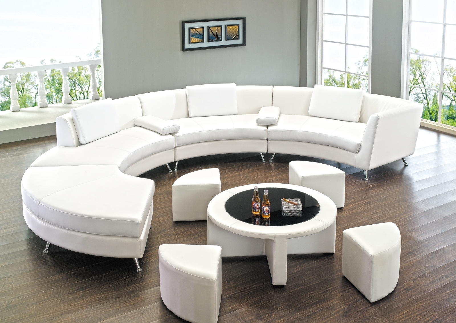 Most Up To Date Rounded Sofas Pertaining To Round Sectional Sofa Has One Of The Best Kind Of Other Is (View 14 of 20)