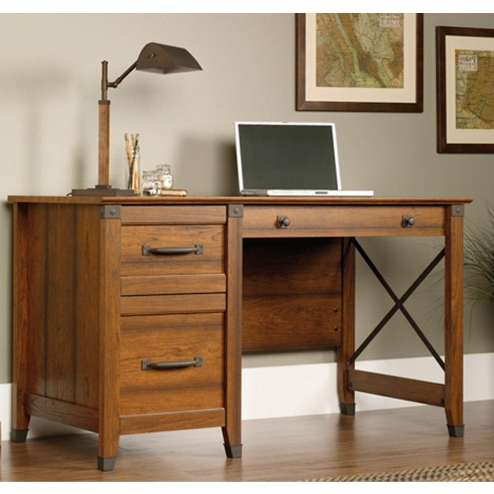 Most Up To Date Sauder – Desks – Home Office Furniture – The Home Depot With Regard To Computer Desks For Home (View 17 of 20)