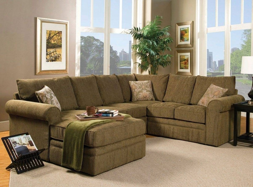 Most Up To Date Sectional Sofa: Astonishing Collection Of Olive Green Sectional In Green Sectional Sofas (View 15 of 20)