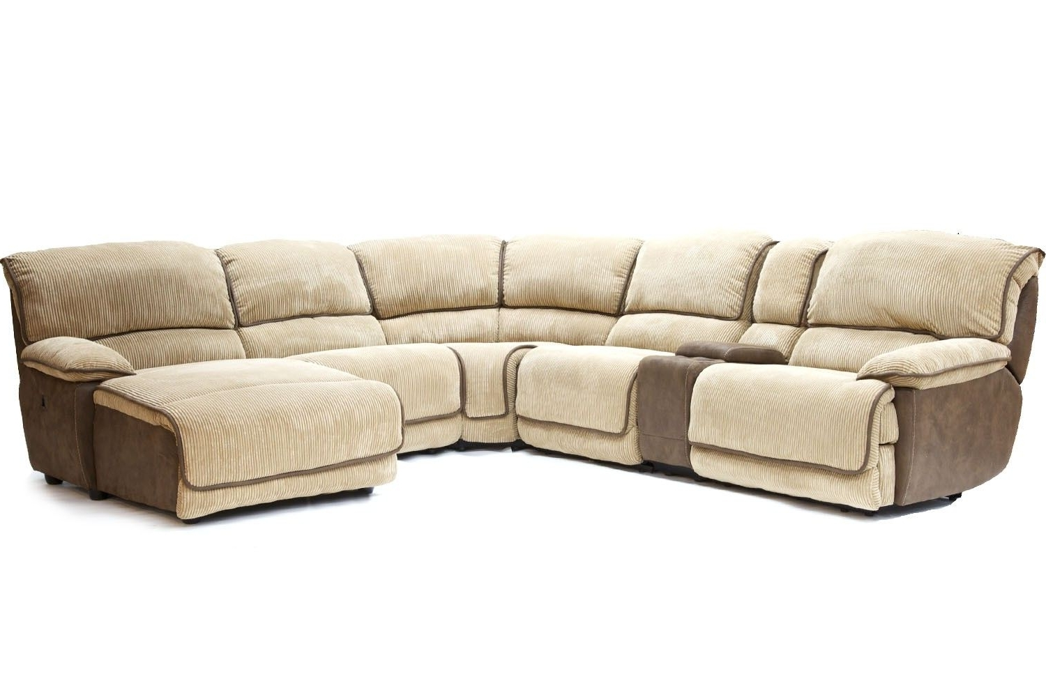 Most Up To Date Sectional Sofas At Austin In Mor Furniture For Less: The Austin Cafe Reclining Living Room (View 5 of 20)