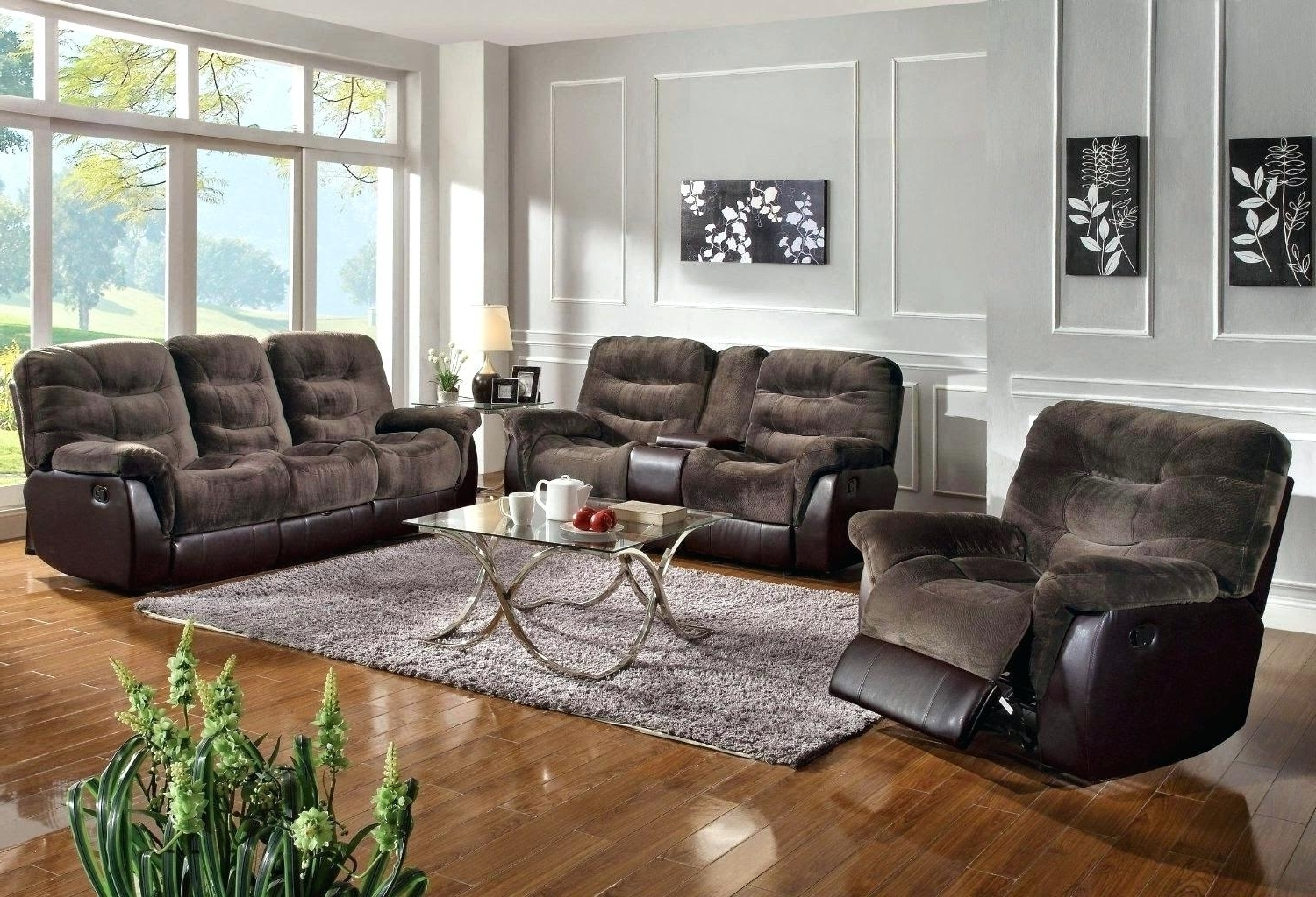Most Up To Date Small Reclining Sectional Sofas Leather Black Sofa – Bikas Intended For Tallahassee Sectional Sofas (Gallery 14 of 20)