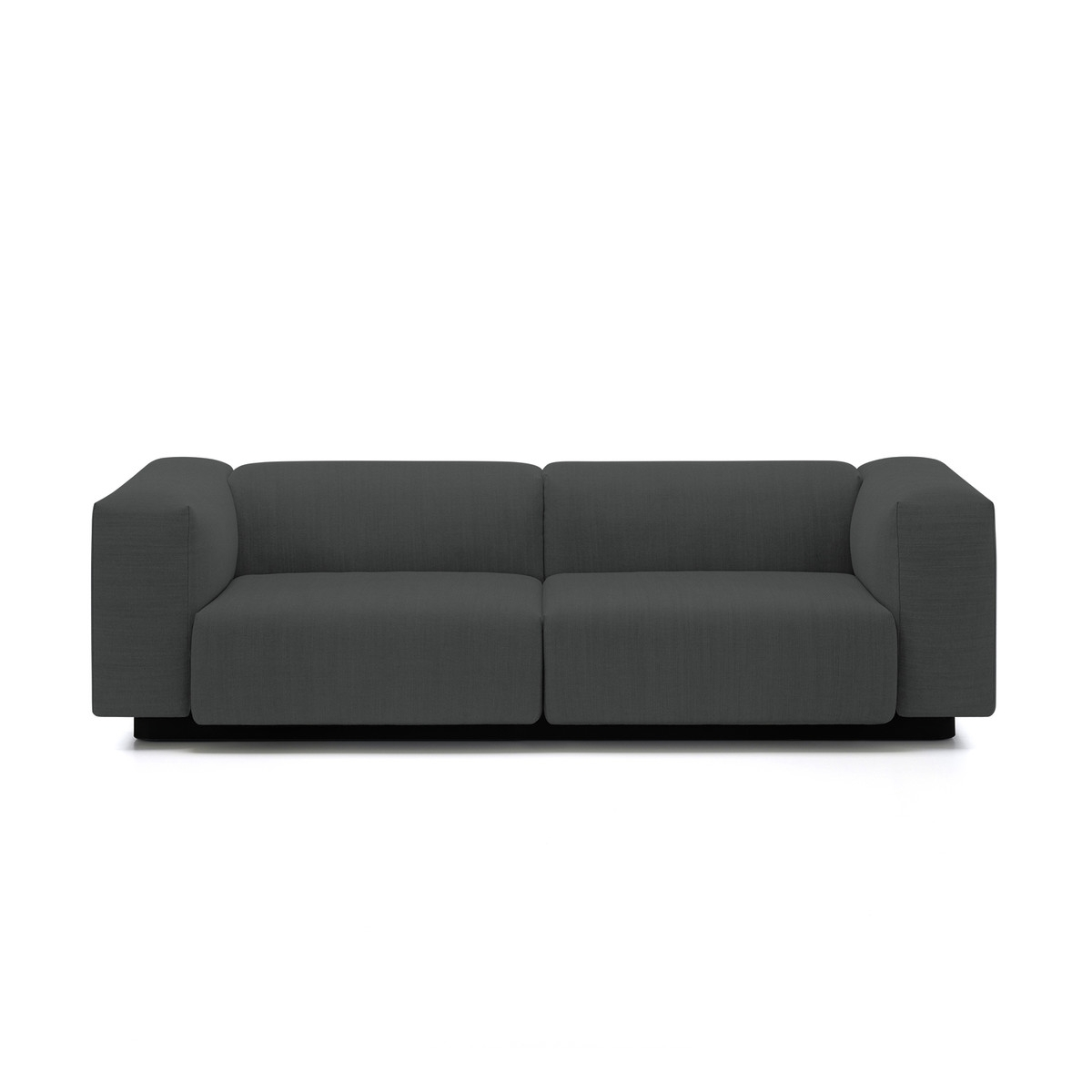 Most Up To Date Soft Modular 2 Seater Sofa From Vitra In The Connox Shop Pertaining To Soft Sofas (View 8 of 20)