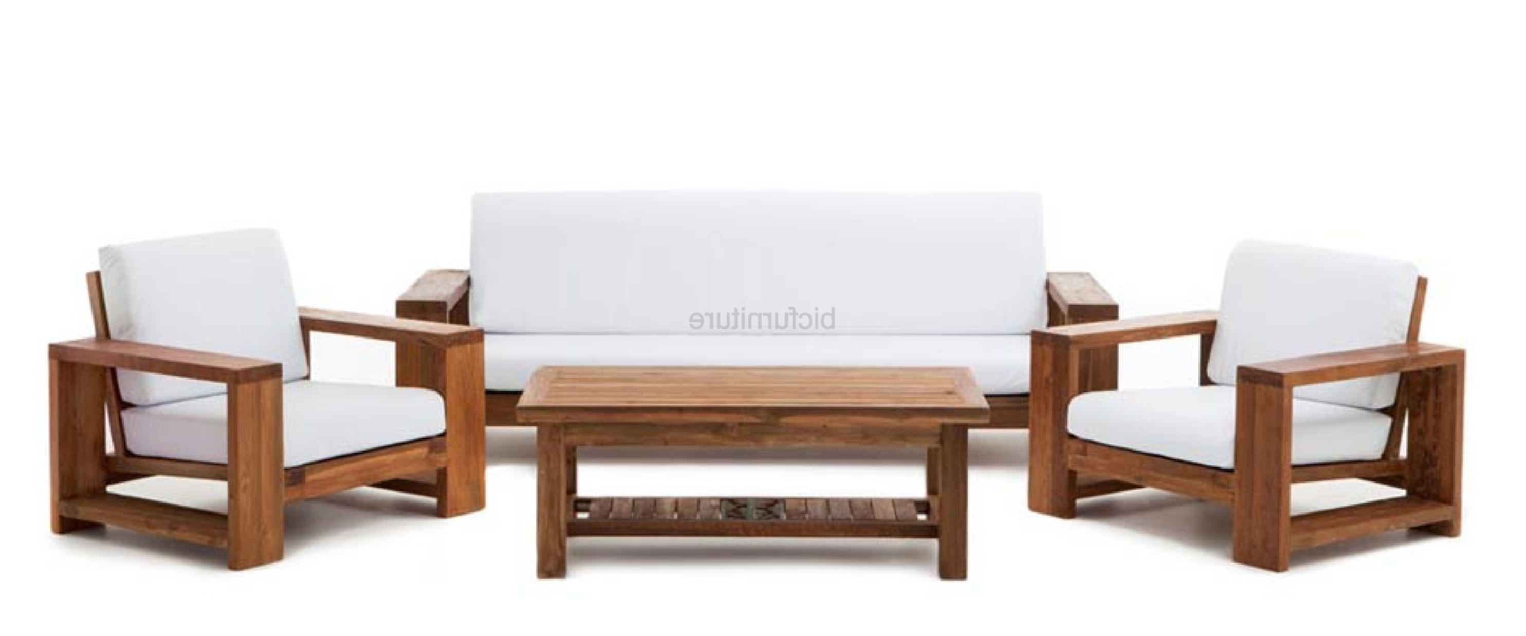 Most Up To Date Teak Wood Furniture Designs Unique Teak Wood Sofa Set Designs For Comfortable Sofas And Chairs (View 15 of 20)