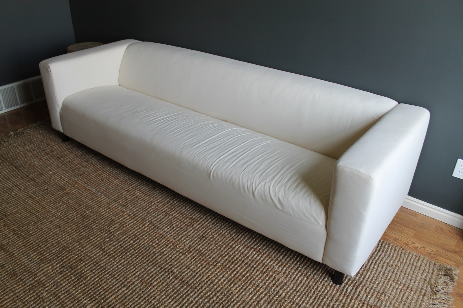Most Up To Date This Little Couch Of Ours – Chris Loves Julia Inside Large 4 Seater Sofas (View 13 of 20)
