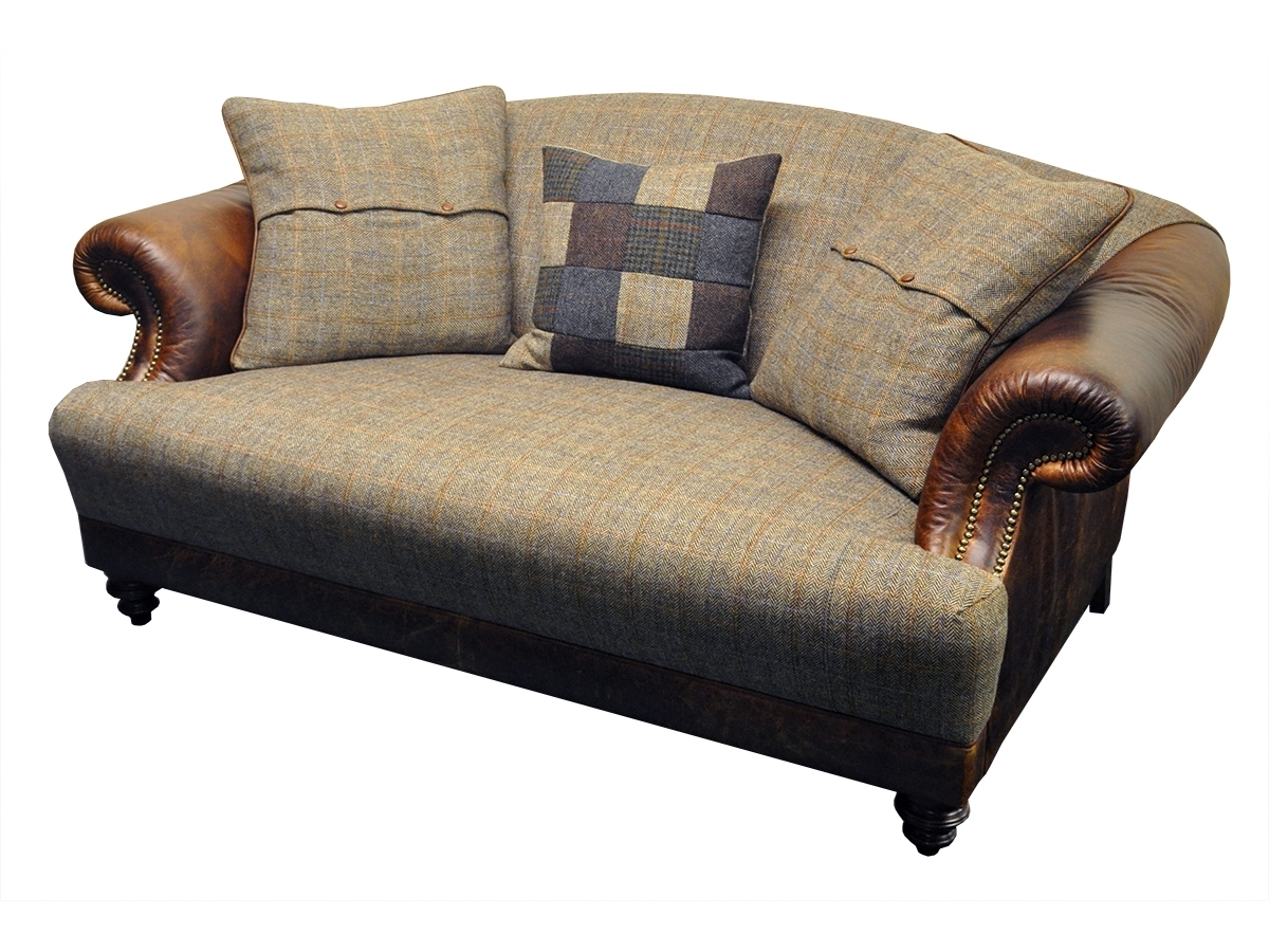 Most Up To Date Tweed Fabric Sofas Pertaining To Taransay Petit Sofa – Tetrad's Harris Tweed Collection – Lpc Furniture (View 12 of 20)