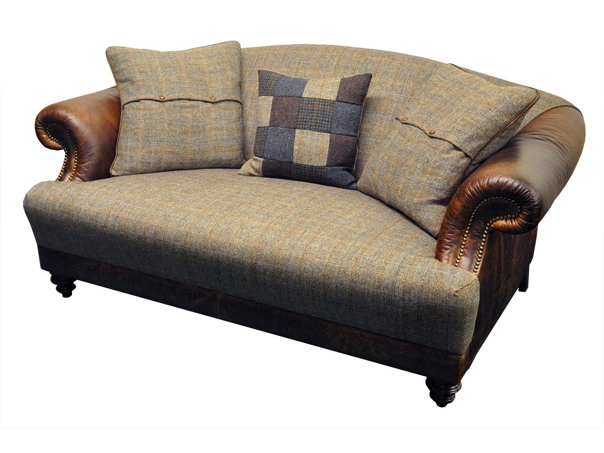 Most Up To Date Tweed Fabric Sofas Pertaining To Taransay Petit Sofa – Tetrad's Harris Tweed Collection – Lpc Furniture (View 12 of 20)
