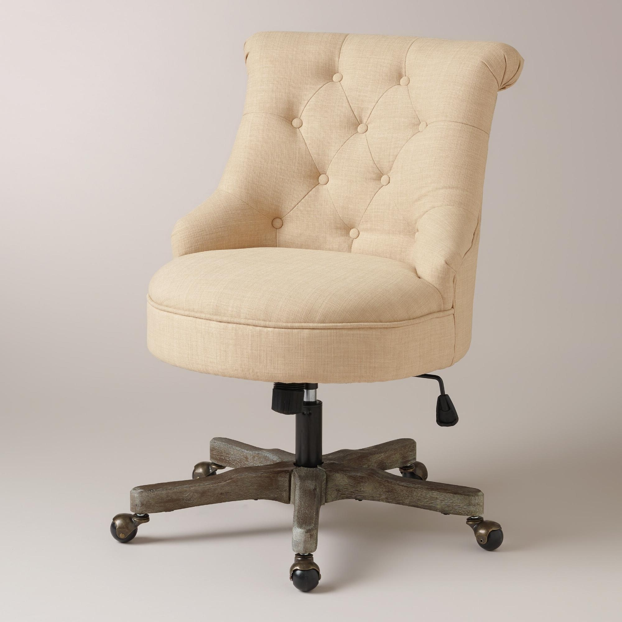 Most Up To Date Upholstered Office Chairs For Desk Chair On Wheel Varied And For Upholstered Executive Office Chairs (View 7 of 20)