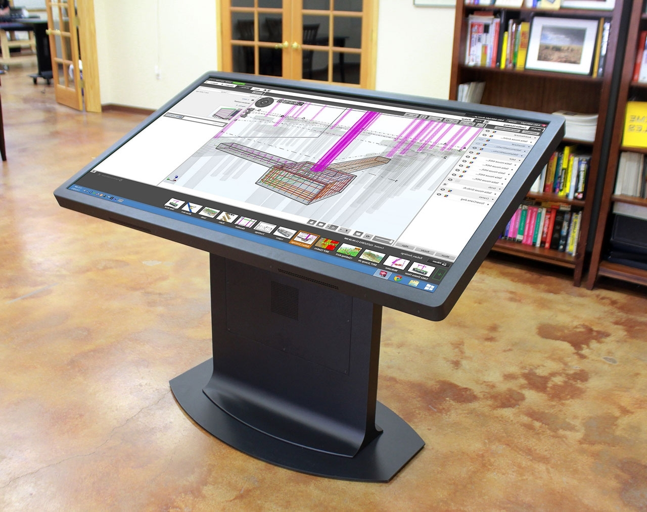 Multitouch Drafting Table: A New Take On The Mechanical Desk (View 20 of 20)