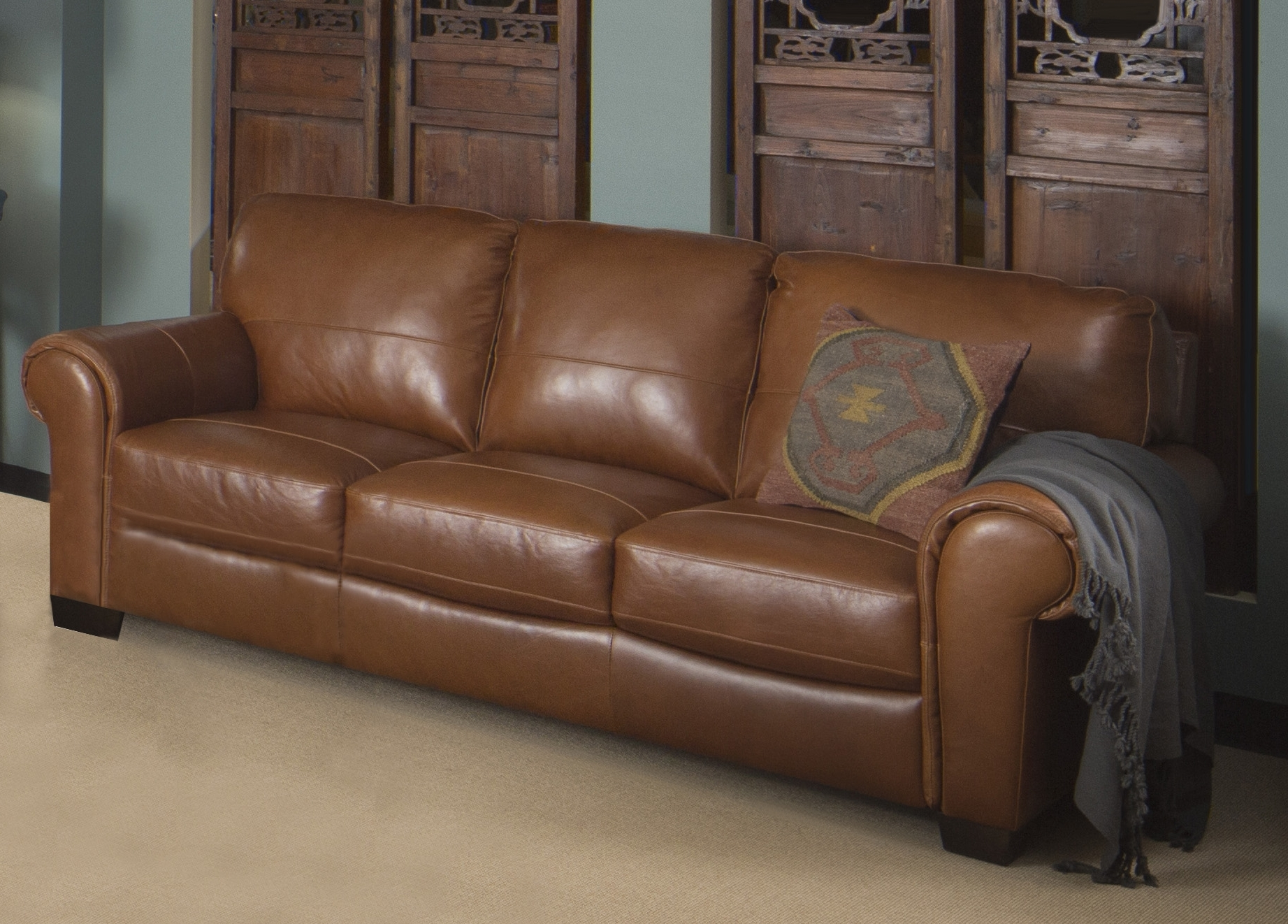 My Dream House With Leather Lounge Sofas (View 3 of 20)