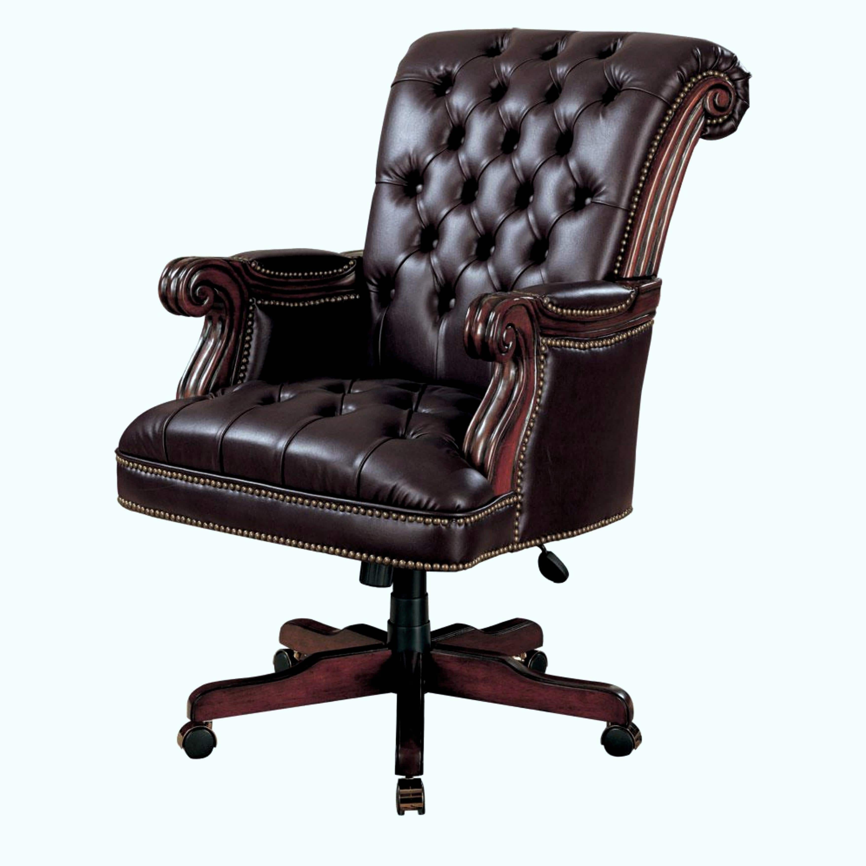 Nailhead Executive Office Chairs In Most Current Plush Rolled Back Design Traditional Button Tufted Executive (View 9 of 20)