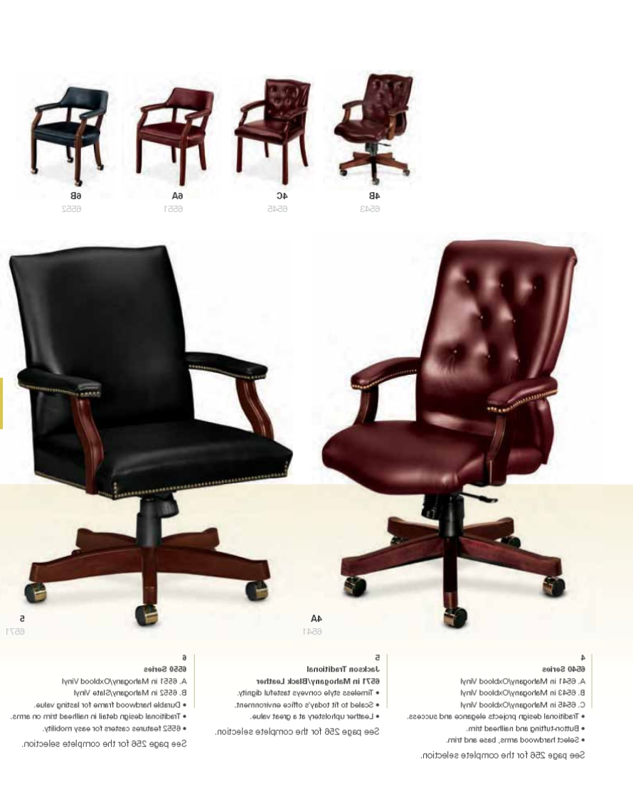 Nailhead Executive Office Chairs Inside 2019 Hon — Hallmark Office Furniture (View 10 of 20)
