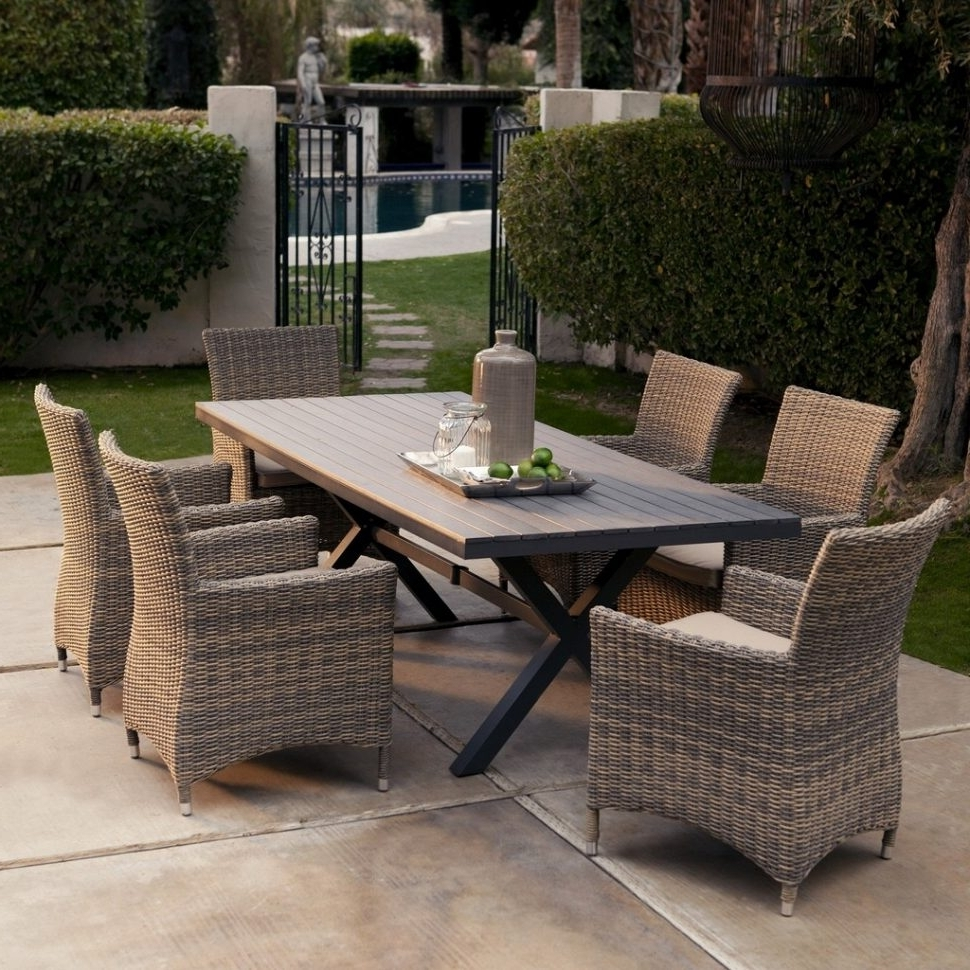 Naples Fl Sectional Sofas With Well Liked Patio : L Shaped Outdoor Furniture Small Outdoor Sectional Sofa (View 12 of 20)