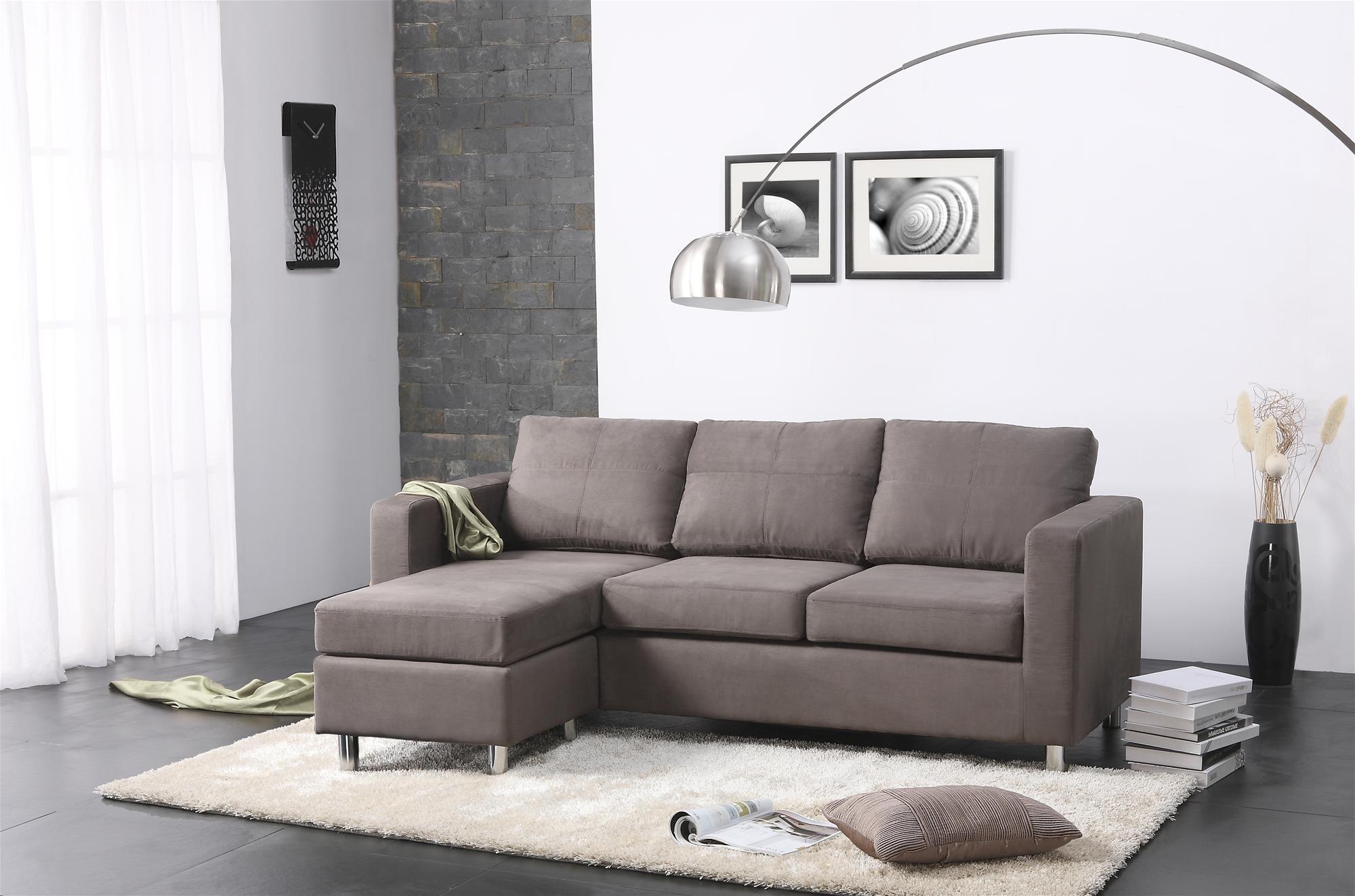 Narrow Spaces Sectional Sofas With Regard To Latest Sofa : Small Sofas For Small Spaces Tiny Sleeper Sofa Retro Sofa (View 8 of 20)