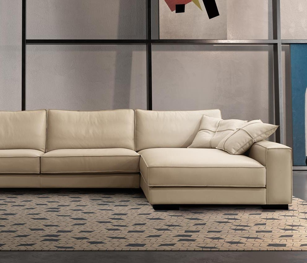 Nashua Nh Sectional Sofas Pertaining To Favorite Bond Sectional Sofa, Gamma International Italy – Italmoda (View 10 of 20)
