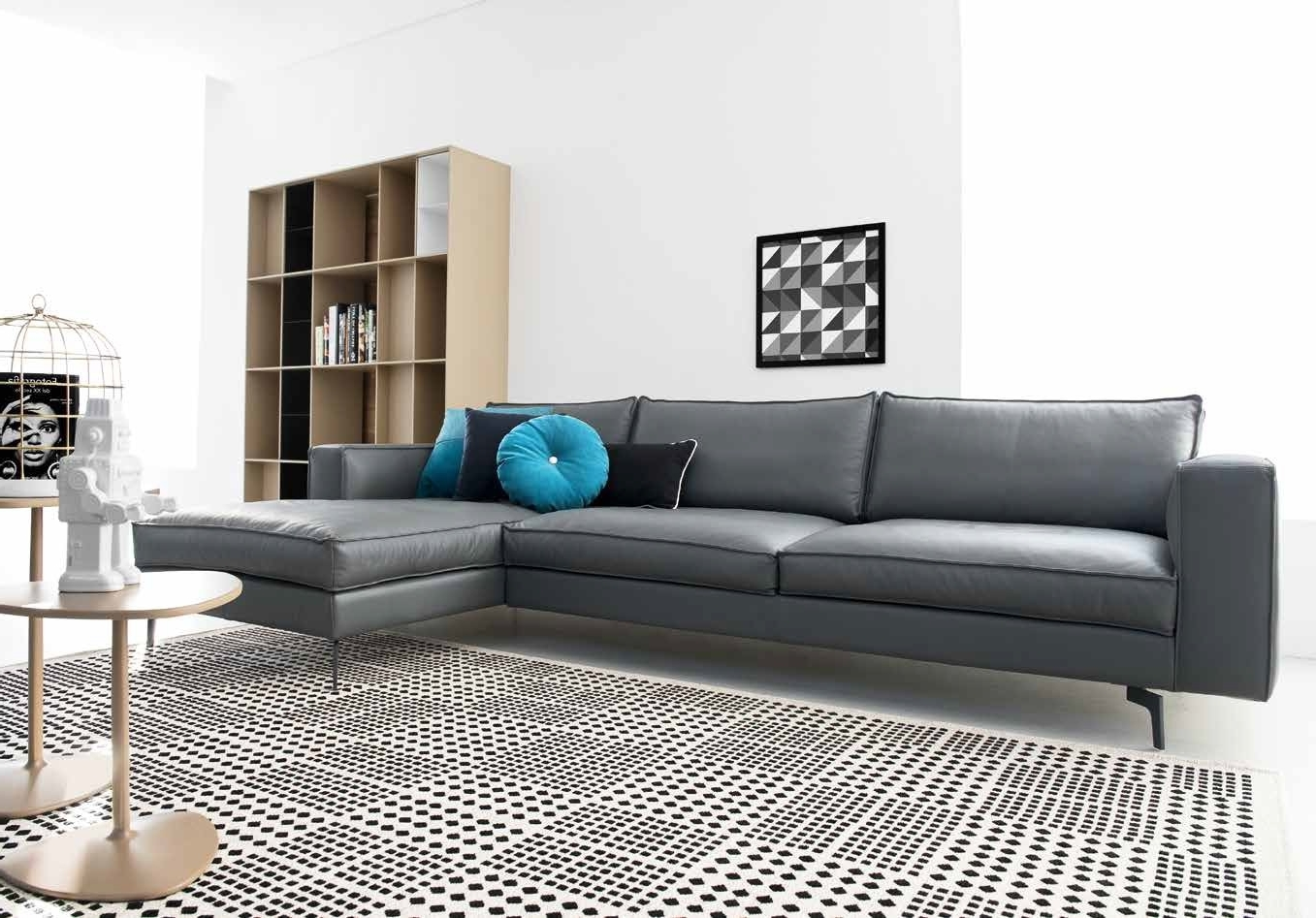 Nashua Nh Sectional Sofas With Most Recent Square Sectional Sofa Cs/3371, Calligaris Italy – Italmoda (View 11 of 20)