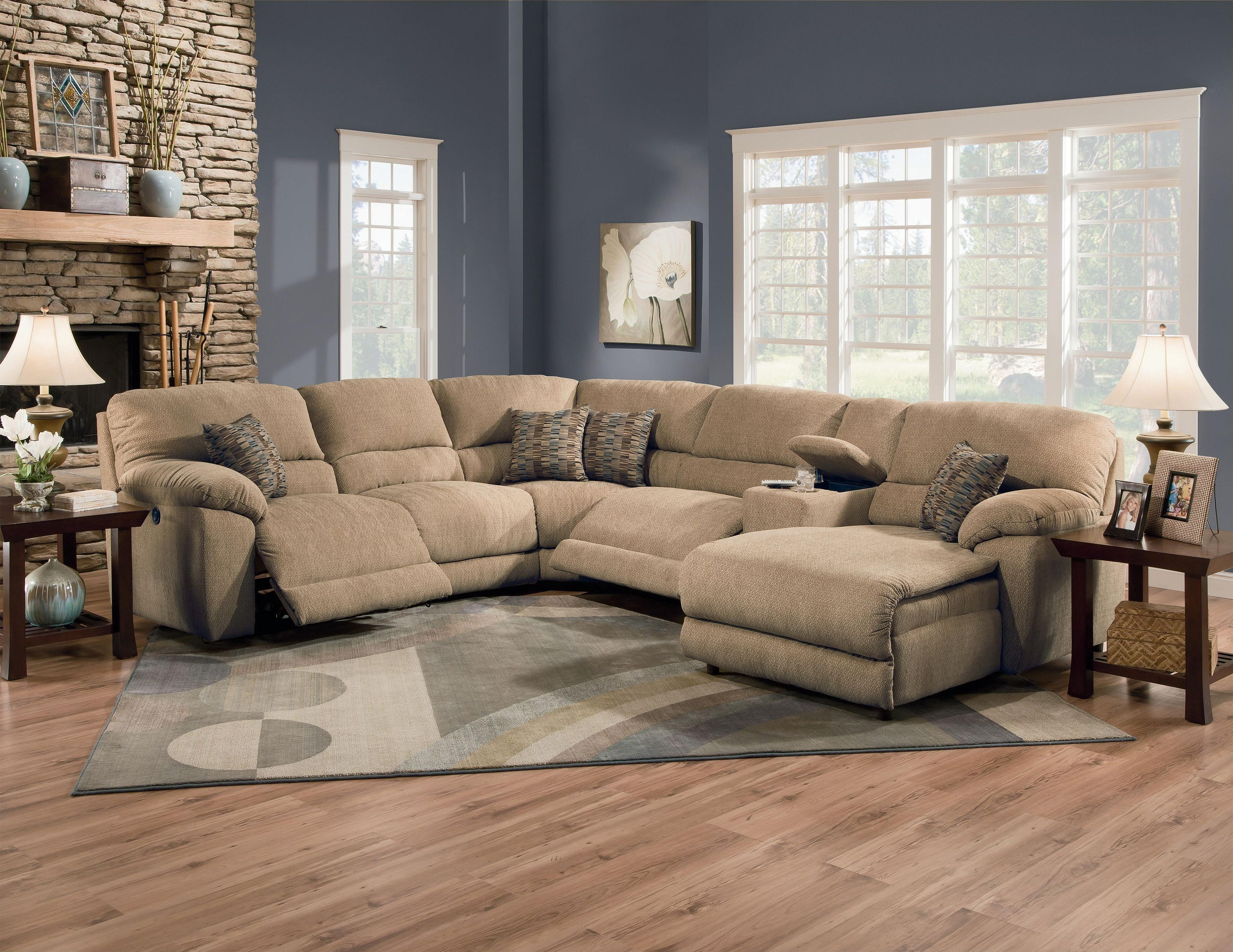 Nashville Sectional Sofas With Trendy Lane Furniture: Rivers Collection Featuring Power Reclining (View 15 of 20)