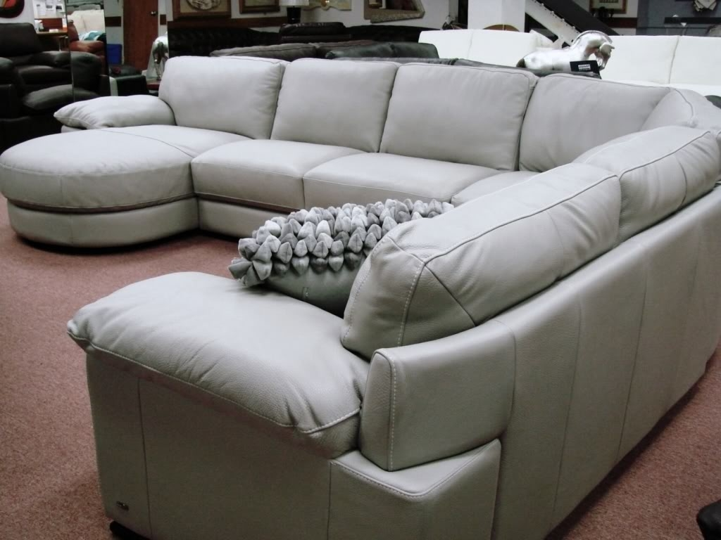 Natuzzi Sectional Sofas In Preferred Furniture: B814 Modular Leather Sectional Natuzzi Editions Puritan (View 14 of 20)