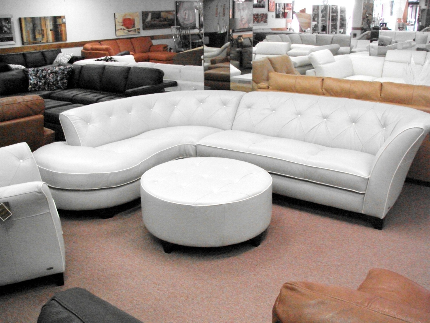 Natuzzi Sectional Sofas Within Favorite Sectional Sofa Design: Wonderful Natuzzi Sectional Sofa Italian (View 15 of 20)