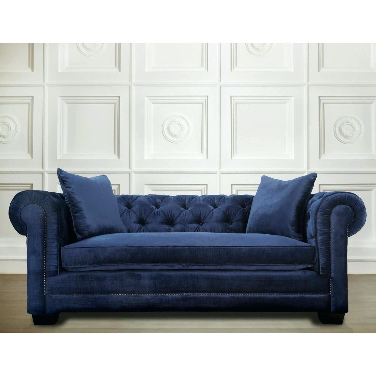 Navy Blue Sofas Sofa Decorating Ideas Couch Set And Chairs Within Newest Blue Sofa Chairs (View 19 of 20)