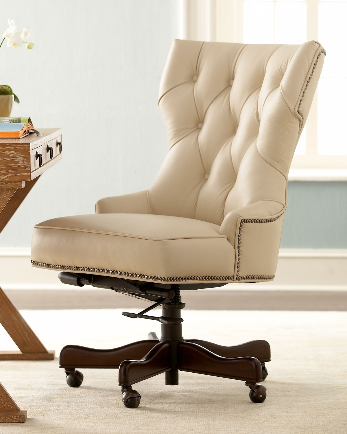 Neiman Marcus Within 2019 Nailhead Executive Office Chairs (View 14 of 20)