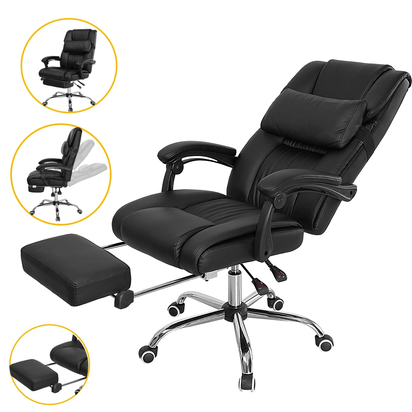 New Reclining Computer Chair (22 Photos) (View 14 of 20)