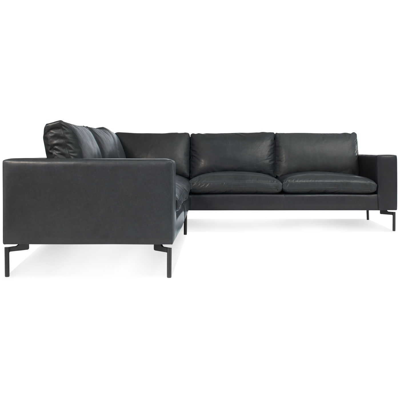 New Standard Small Leather Sectional – Modern Leather Sofa (View 10 of 20)