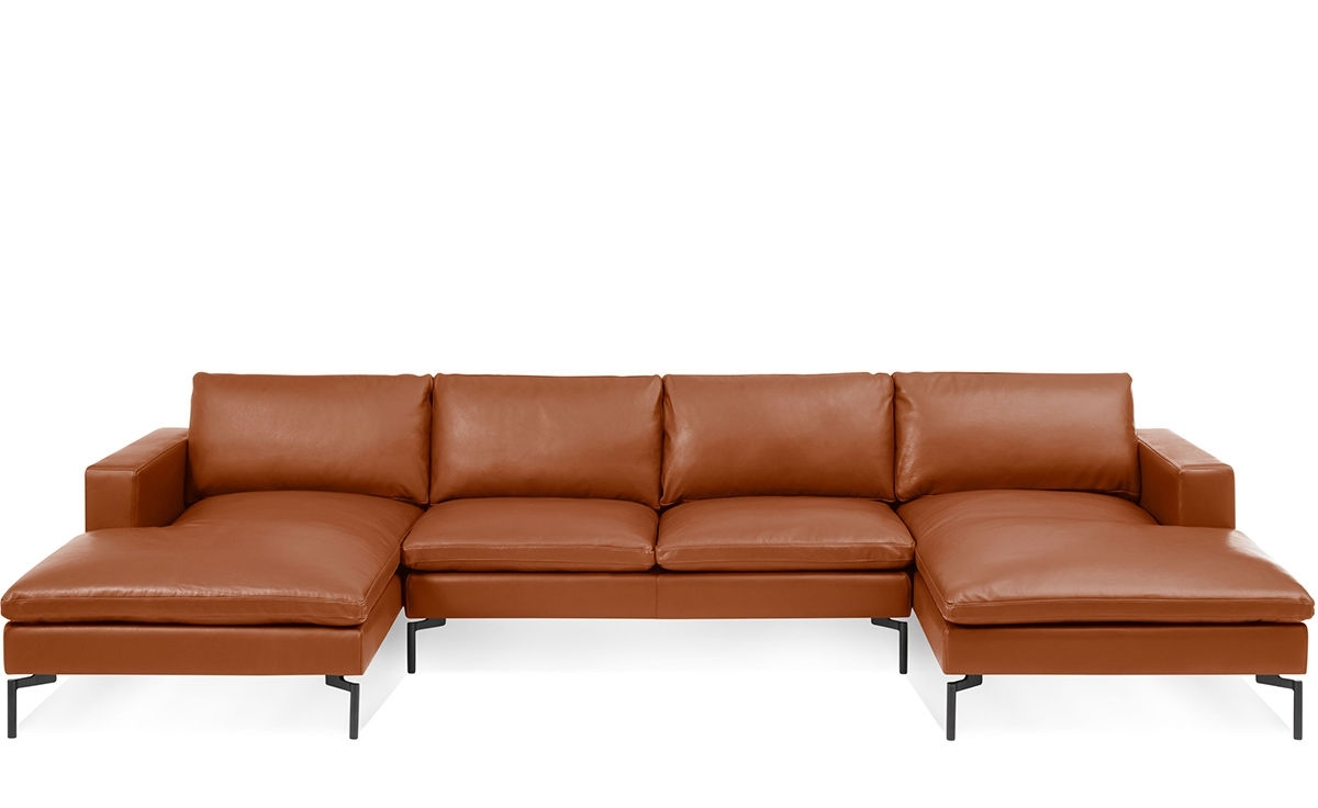 New Standard U Shaped Leather Sectional Sofa – Hivemodern With Regard To Favorite U Shaped Leather Sectional Sofas (View 3 of 20)