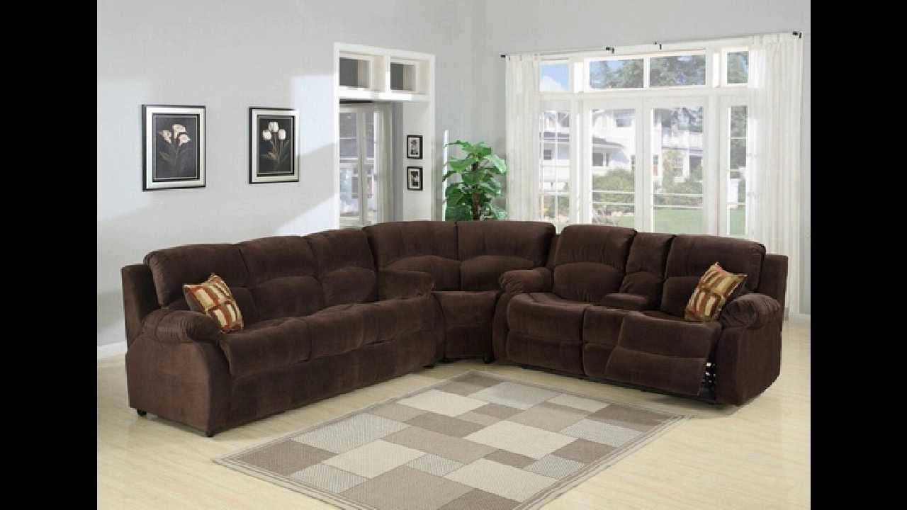 Newest 3 Pc Tracey Chocolate Plush Microfiber Upholstered Sectional Sofa Within Plush Sectional Sofas (View 8 of 20)