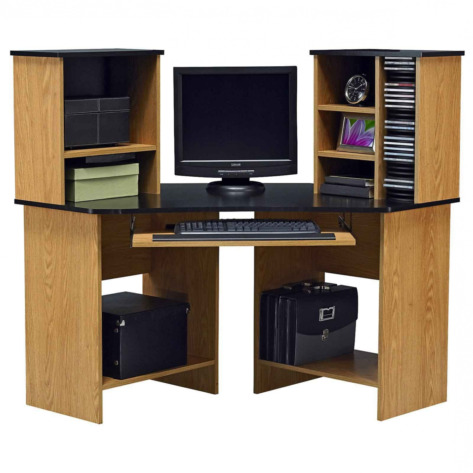Newest 76 Most Fabulous Corner Desk Small Laptop Home Computer Desks Tall Within Tall Computer Desks (View 15 of 20)