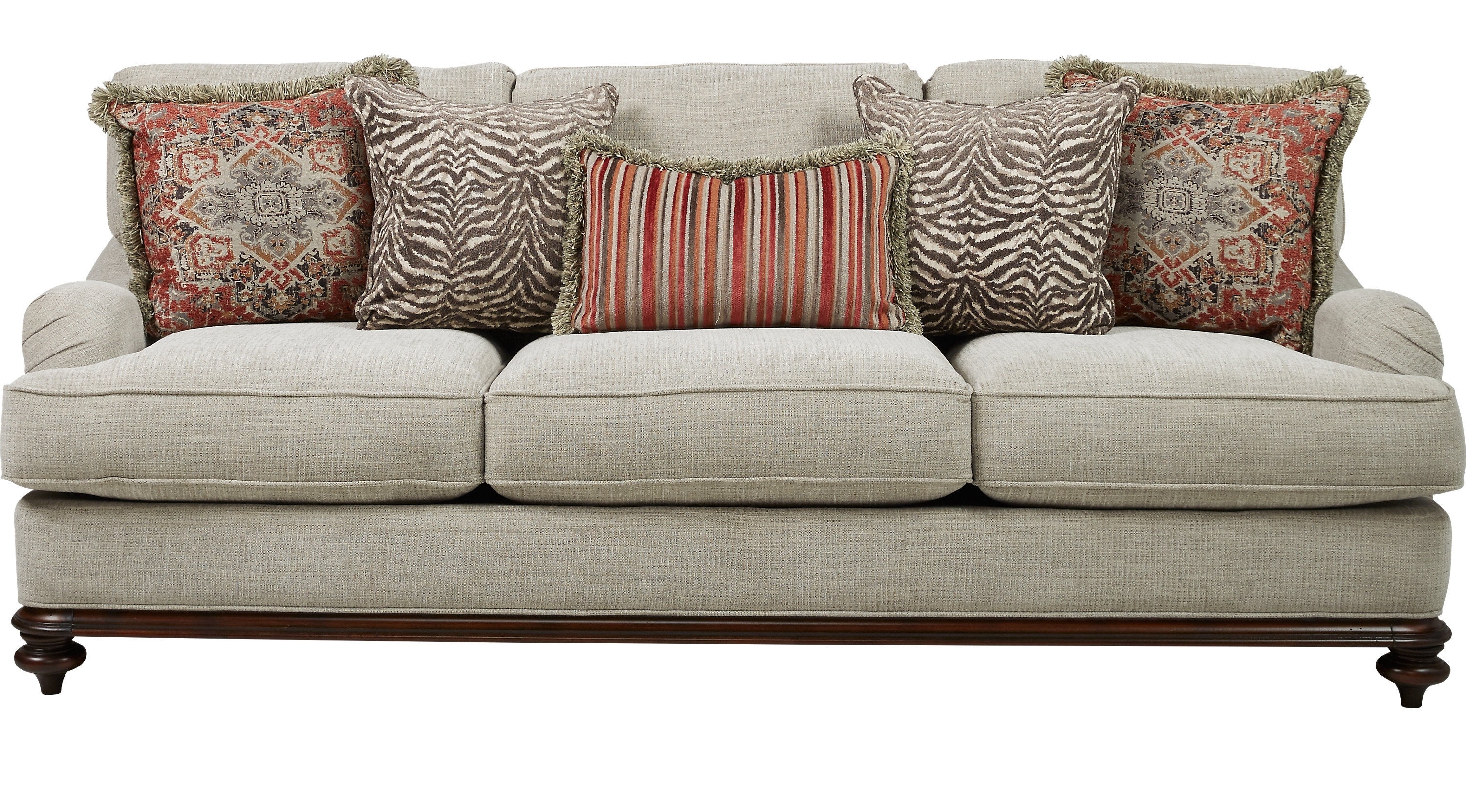 Newest $899.99 – Bali Breeze Taupe (grayish Brown) Sofa – Classic Intended For Cindy Crawford Sofas (Gallery 3 of 20)
