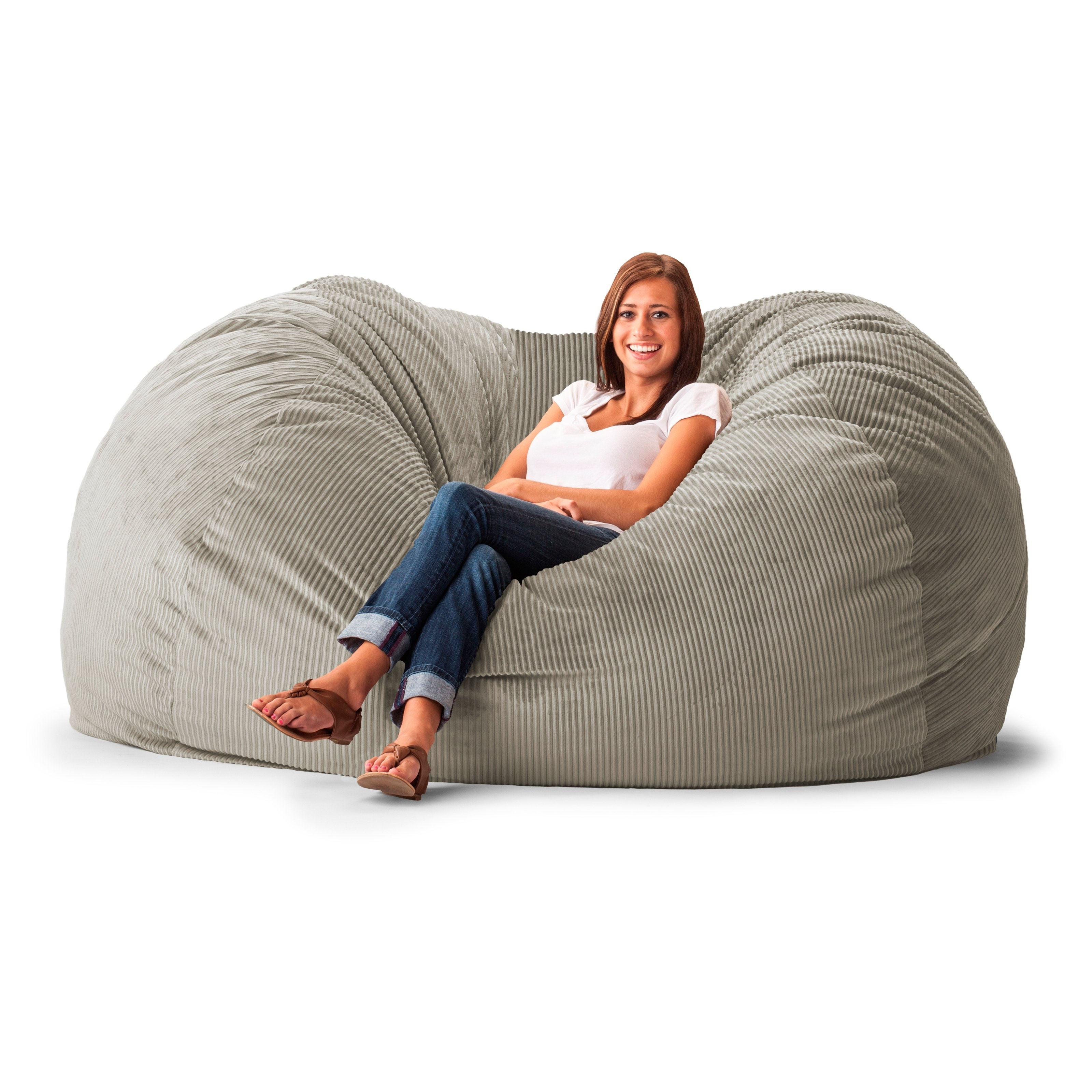 Newest Bean Bag Sofas With Comfort Bean Bag Sofa – Florist H&g (View 14 of 20)