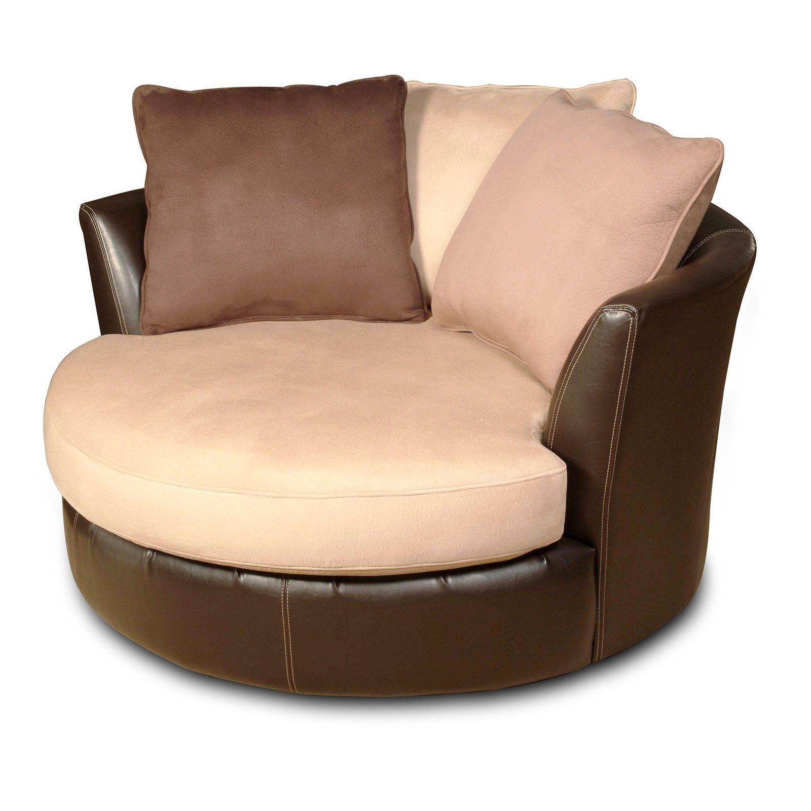 Newest Chelsea Home Furniture Newport Swivel Chair – Laredo Mocha (View 6 of 20)