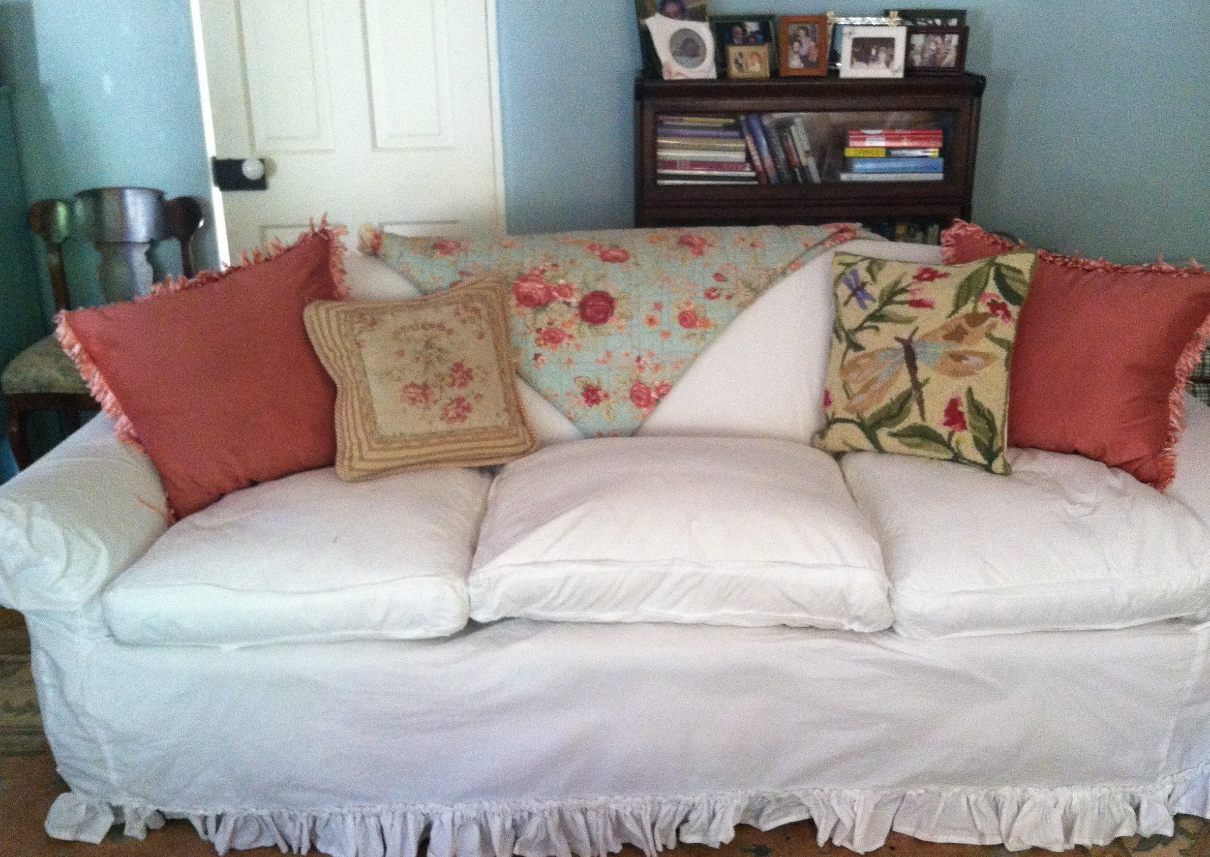 Newest Chintz Floral Sofas Within Old Sofa? – Give It The Slip (View 13 of 20)