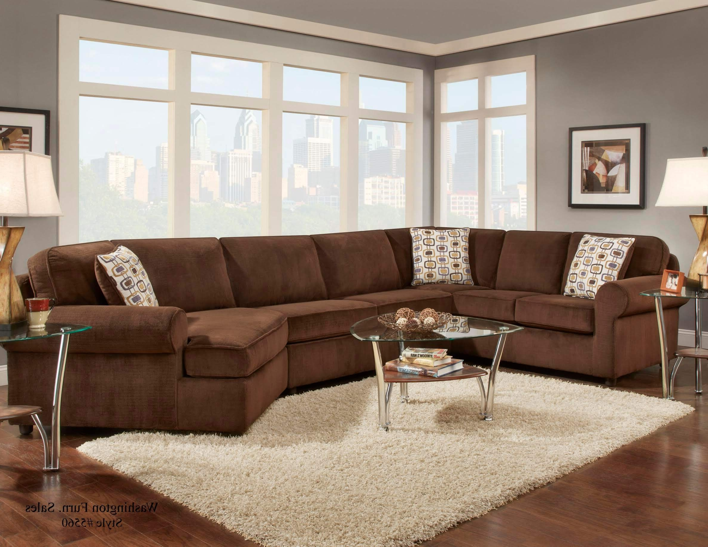 Newest Chocolate Sectional Sofas With Regard To Dynasty Chocolate Sectionalwashington (View 19 of 20)