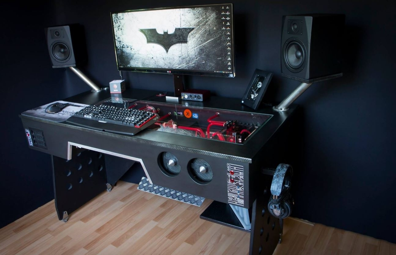 Newest Computer Gaming Desks For Home In 20 Top Diy Computer Desk Plans, That Really Work For Your Home (View 17 of 20)
