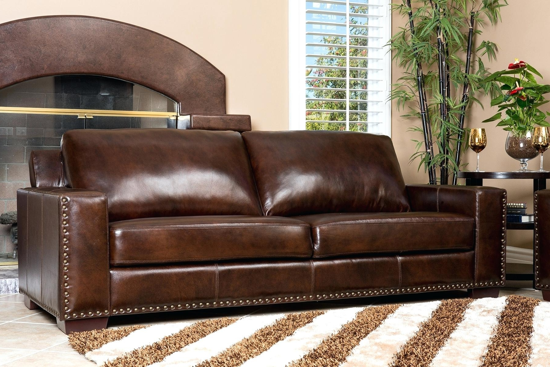 Newest Craigslist Leather Sofas In Restoration Hardware Leather Sofa Craigslist Chair Churchill (View 16 of 20)