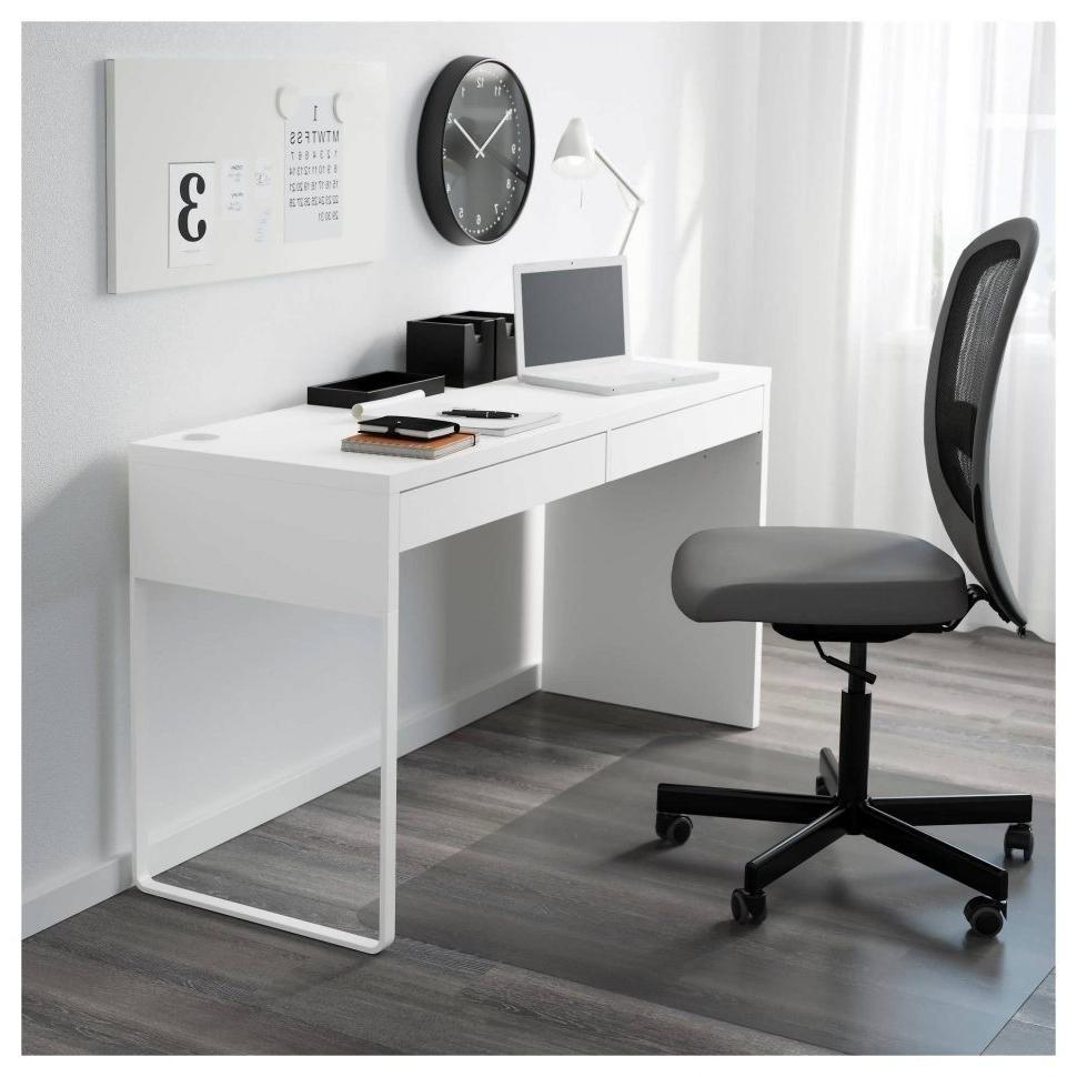 Newest Desk : Simple Black Computer Desk 28 Inch Computer Desk 8 Ft Throughout Long Computer Desks (View 15 of 20)