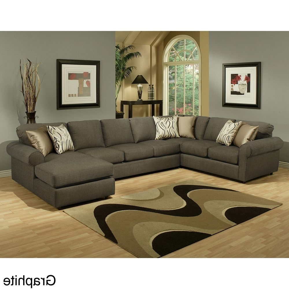 Newest Eco Friendly Sectional Sofas With Roxanne Fabric 6 Piece Modular Sectional Sofa With Ottoman (View 14 of 20)