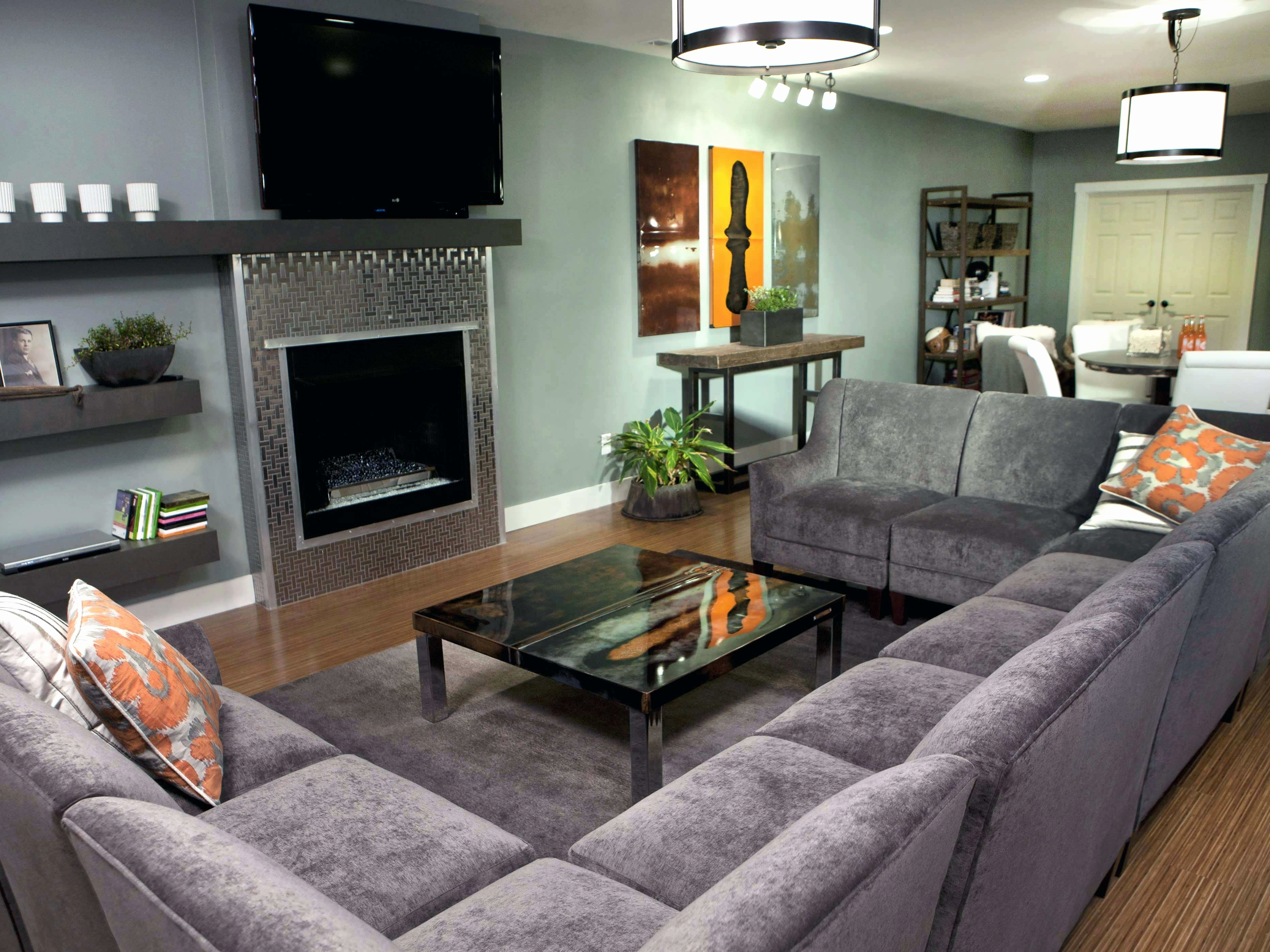 Newest Elegant U Shaped Sectional Sofa 2018 – Couches And Sofas Ideas In Reclining U Shaped Sectionals (View 10 of 20)