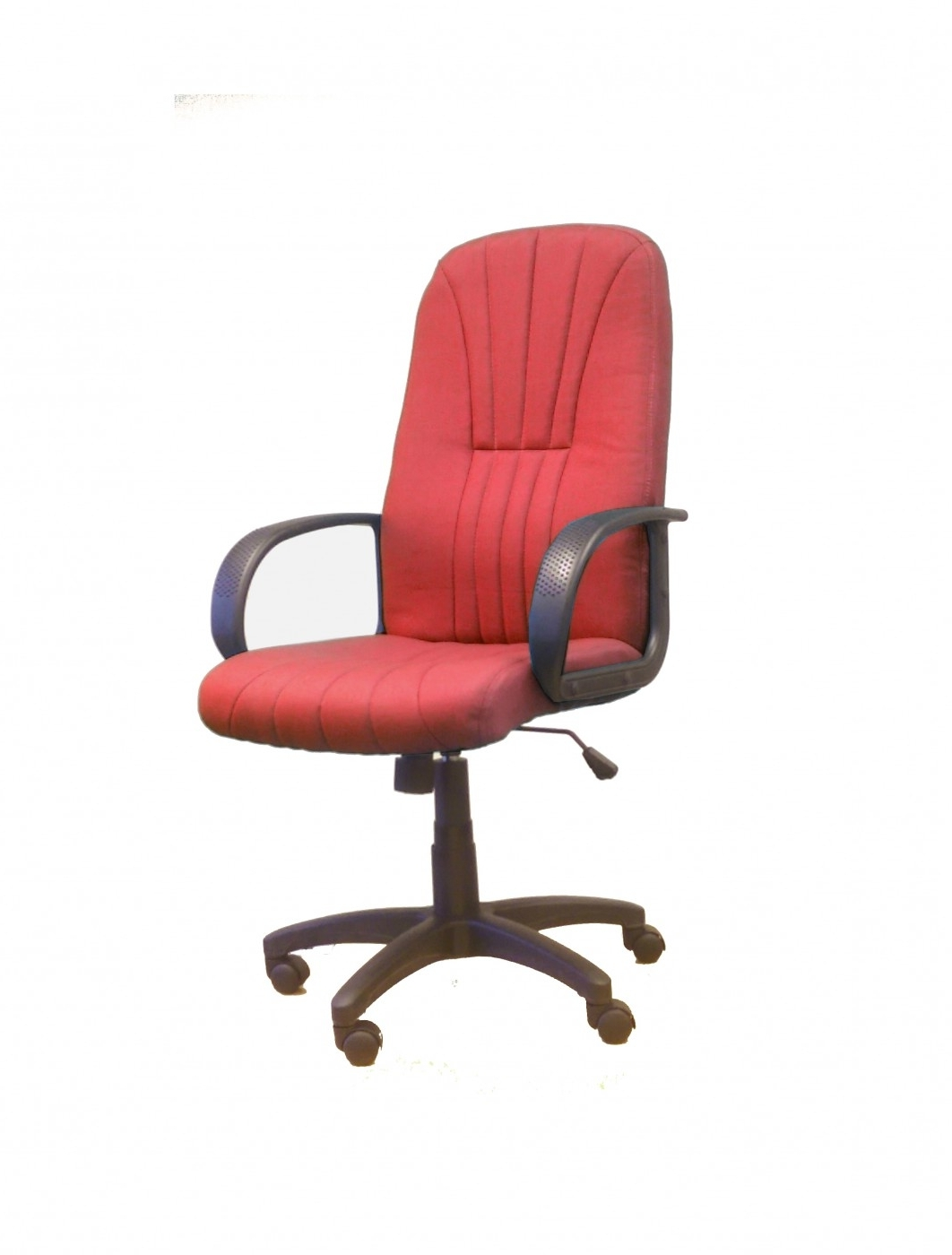Newest Fabric Executive Office Chairs Throughout Pluto Fabric High Back Executive Office Chair Bcf/s (View 16 of 20)