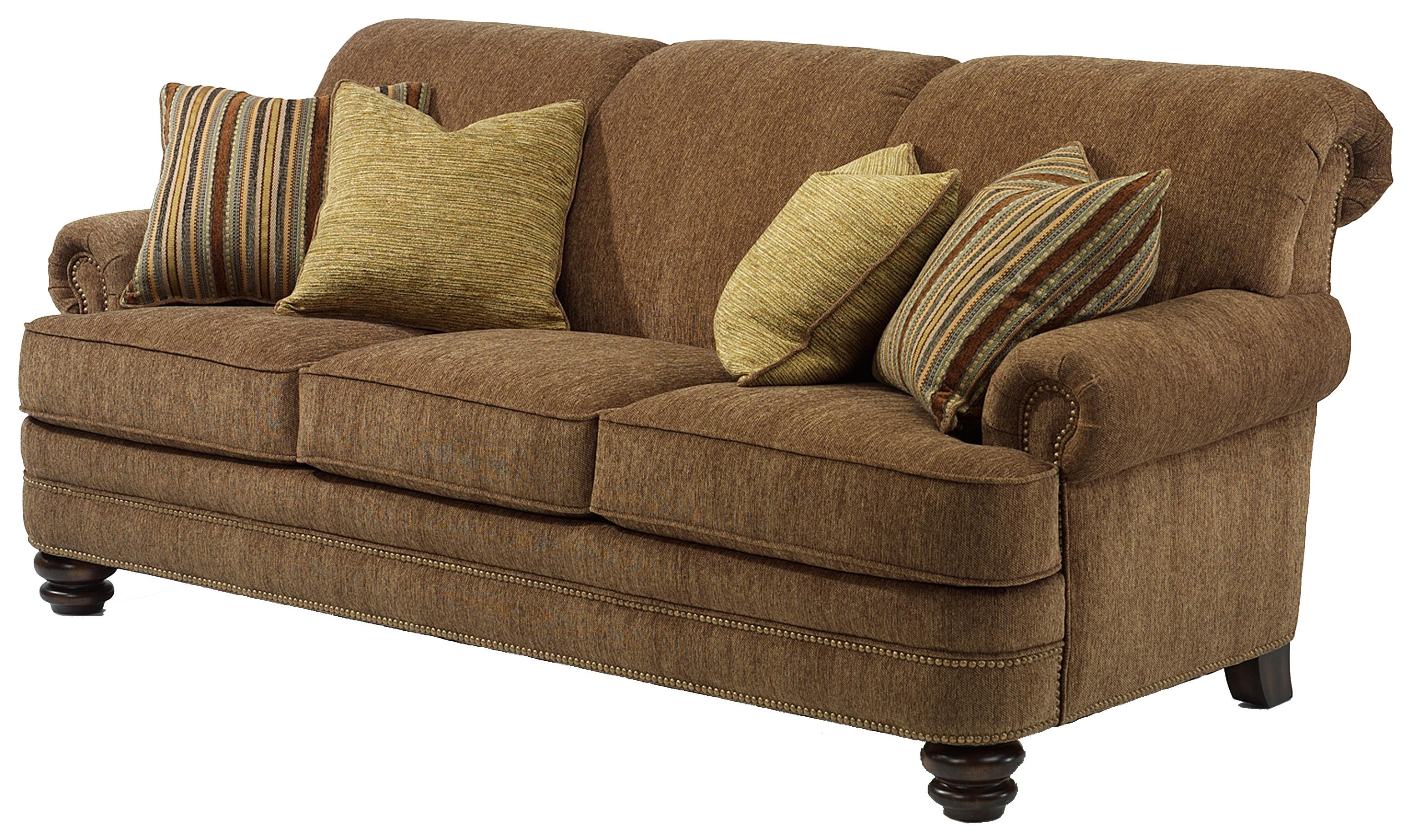 Newest Flexsteel Bay Bridge Traditional Rolled Back Sofa – Ahfa – Sofa Inside Scarborough Sectional Sofas (View 11 of 20)