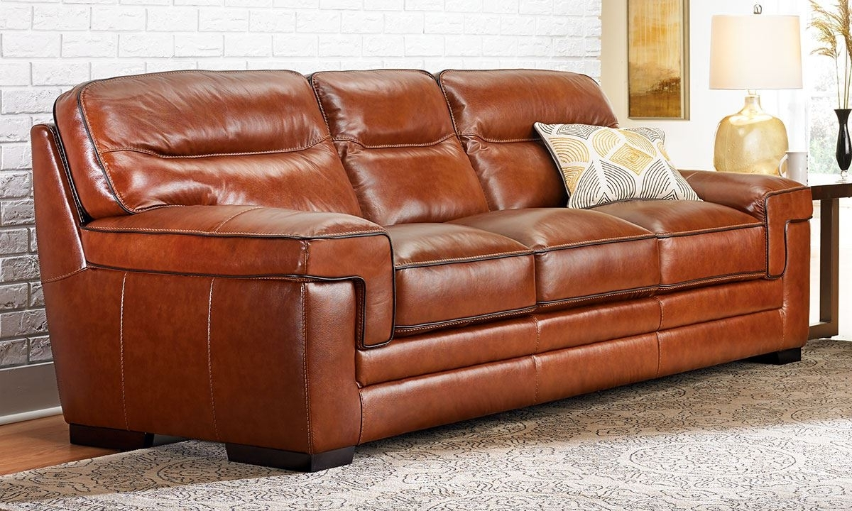 Newest Full Grain Leather Sofas Within Full Grain Leather Reclining Sofa Italian Leather Sofa Natuzzi (View 20 of 20)
